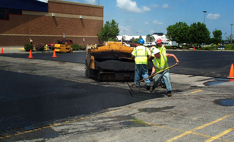 Parking Lot Overlay and Resurfacing